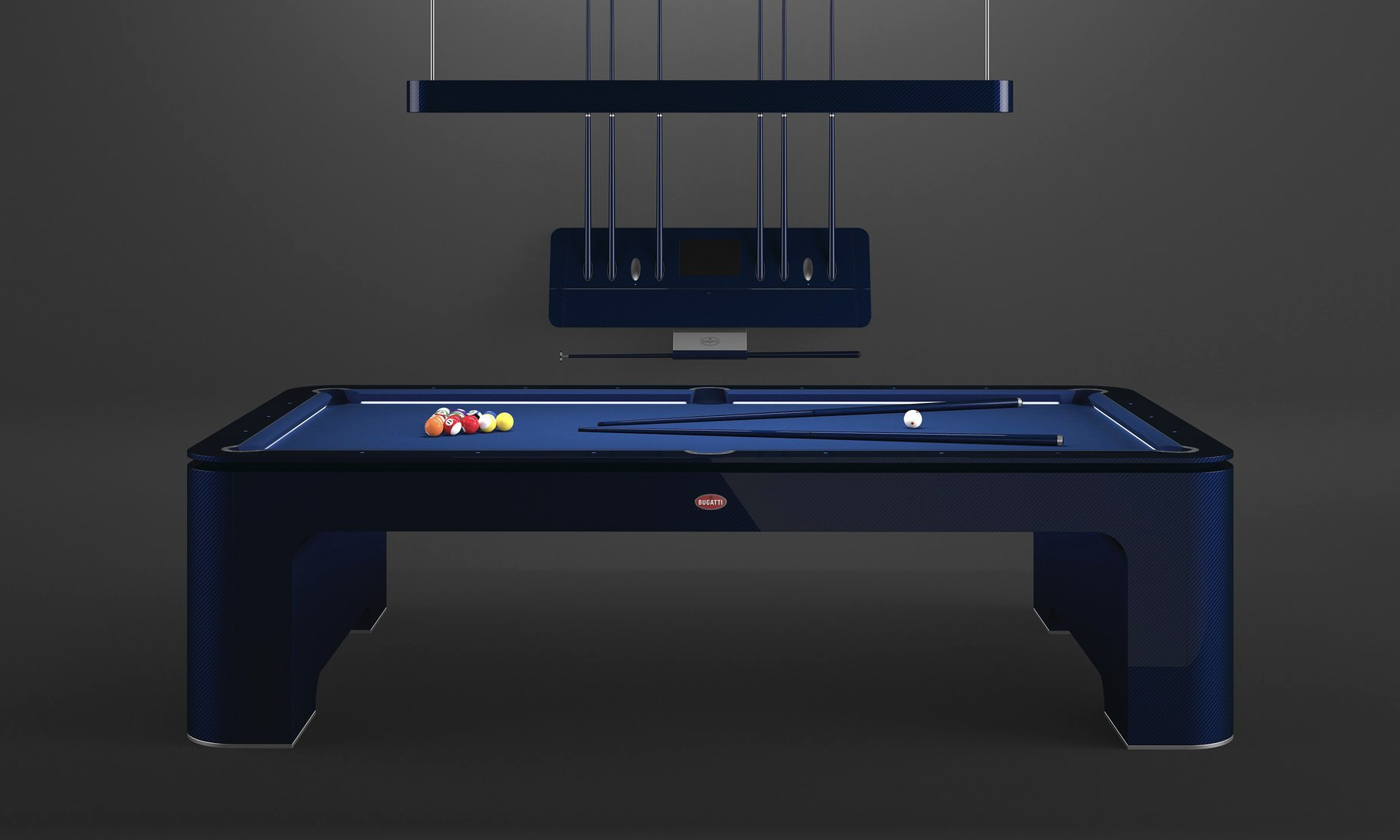 布加迪发布售价 30 万美元的台球桌