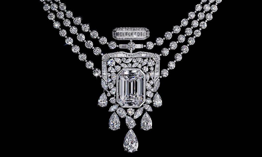 纪念 N°5 诞生百年,CHANEL 打造 55.55 克拉钻石项链