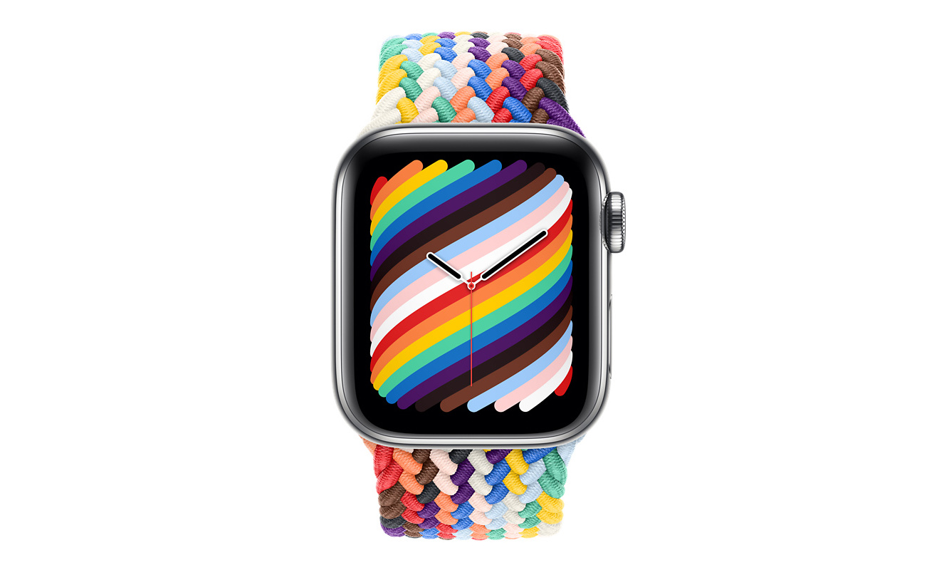 Apple 与 Nike 推出彩虹版 Apple Watch 表带