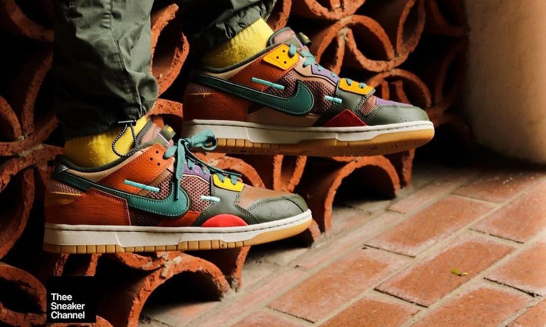 Nike Dunk Low Scrap「Archeo Brown」实物近赏