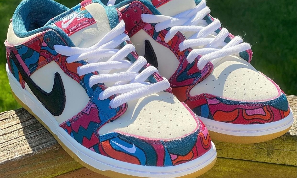 Parra x Nike SB Dunk Low 实物近赏