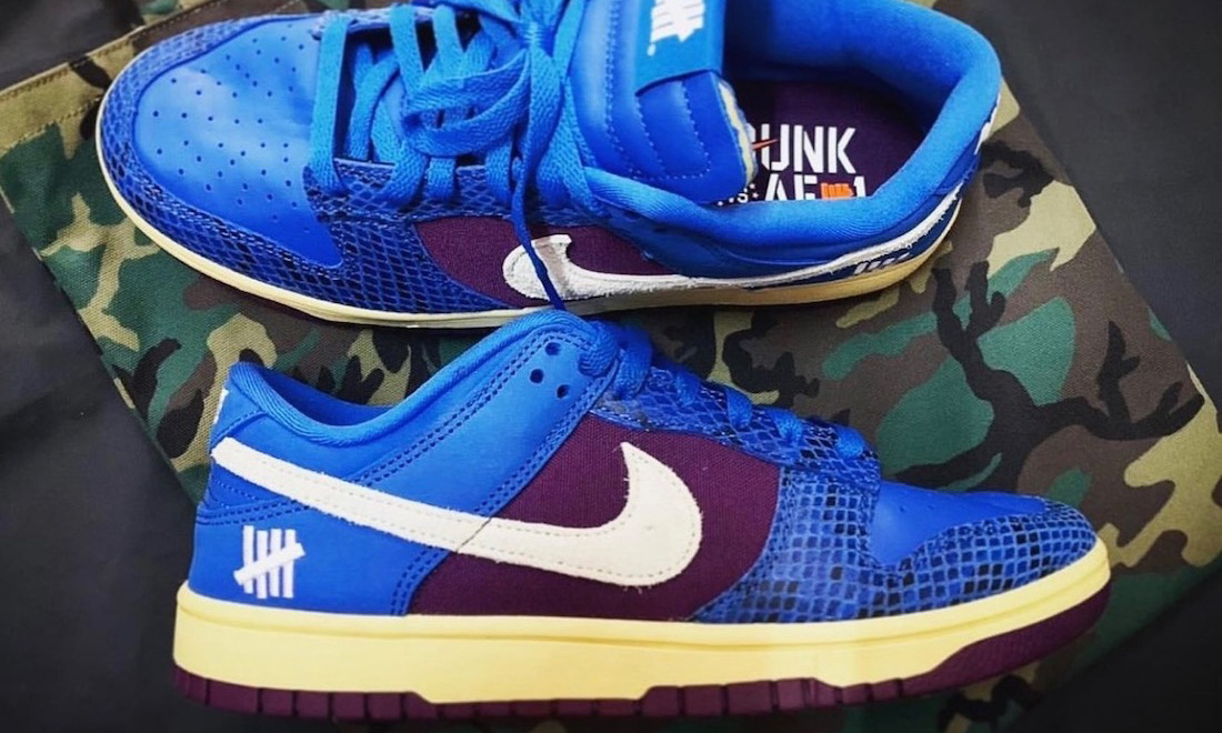 UNDEFEATED x Nike Dunk Low 全新联名鞋款释出