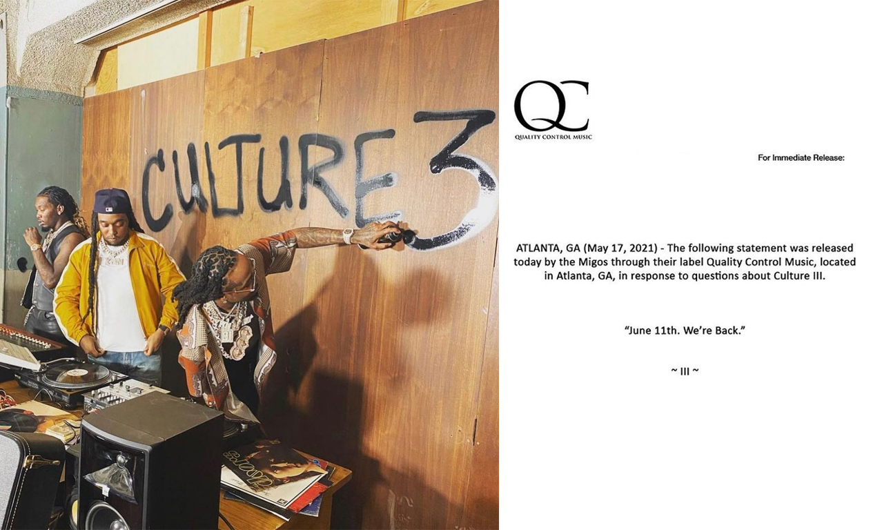 Migos 回归,新专《Culture III》即将到来