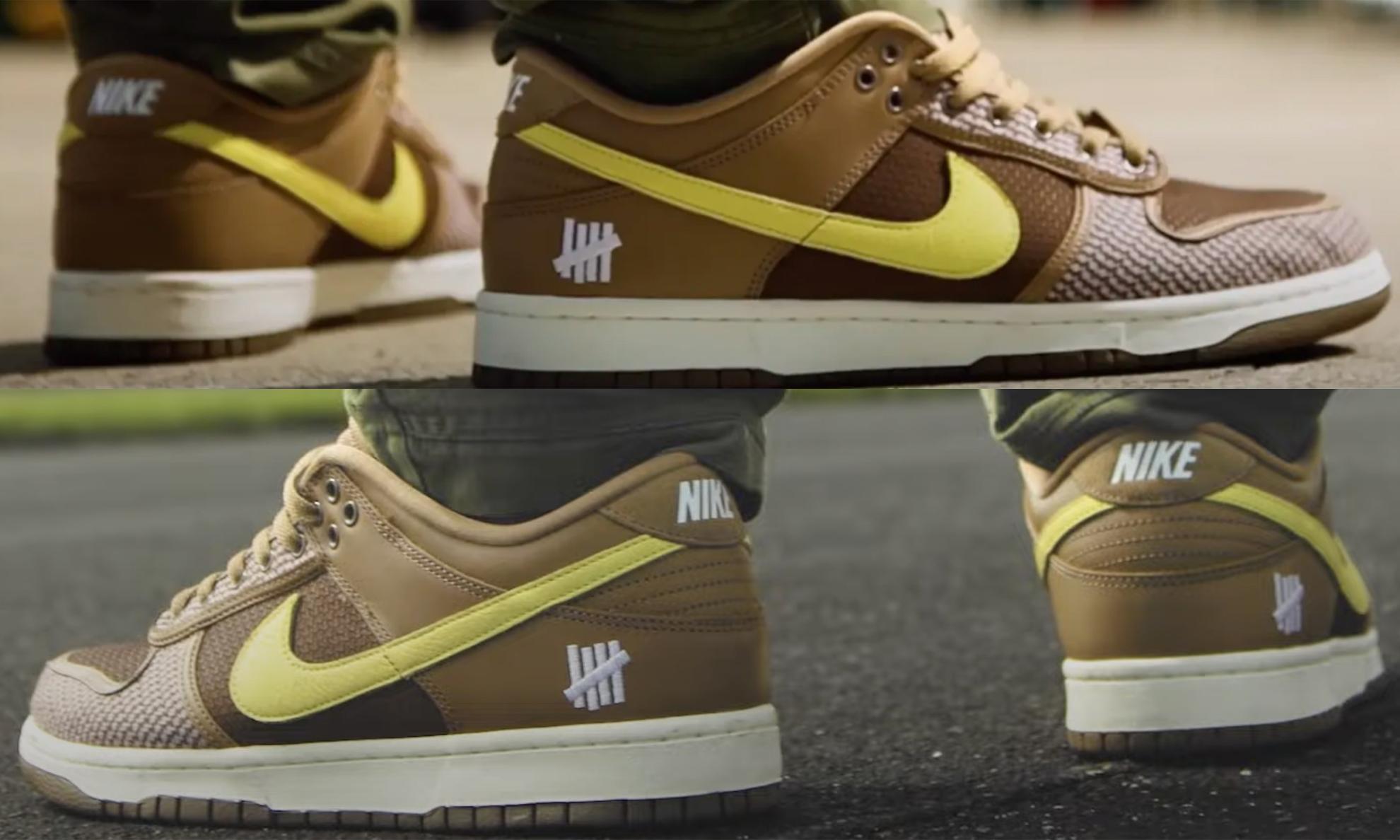 UNDEFEATED x Nike Dunk Low 全新联名鞋款首度曝光