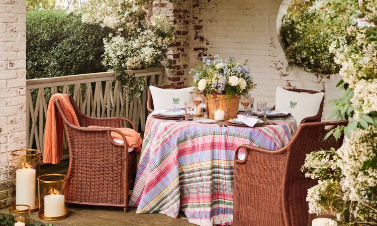 Ralph Lauren HOME 推出「Summer Hill」系列家具