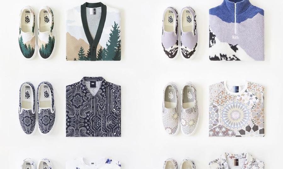 KITH x VANS 十周年联名系列服饰即将发售