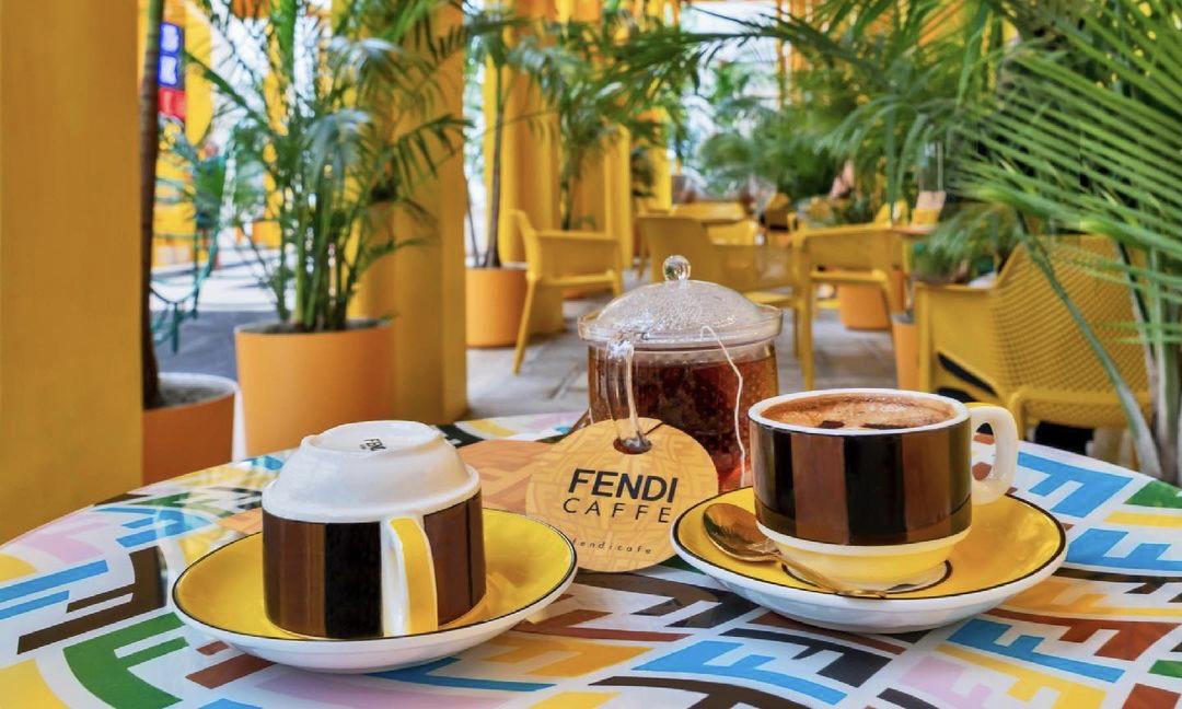 FENDI 打造限时咖啡店