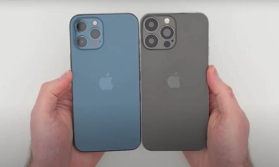 刘海、摄像头改变明显,iPhone 13 机模曝光