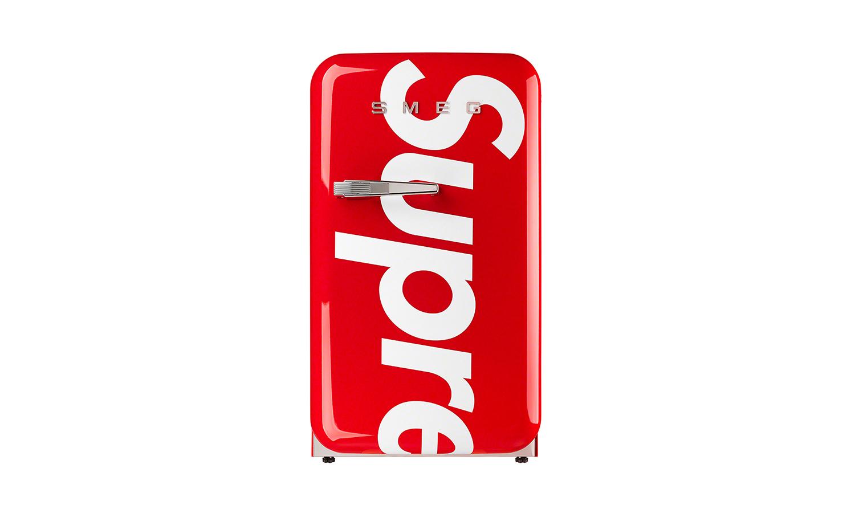 Supreme x SMEG 迷你冰箱将在本周发售