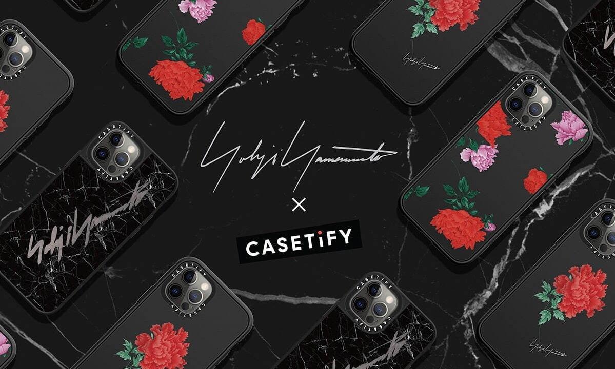Yohji Yamamoto x CASETiFY 联乘手机壳即将发布