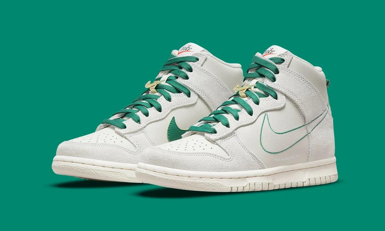 Nike Dunk High 新配色「First Use」即将登场