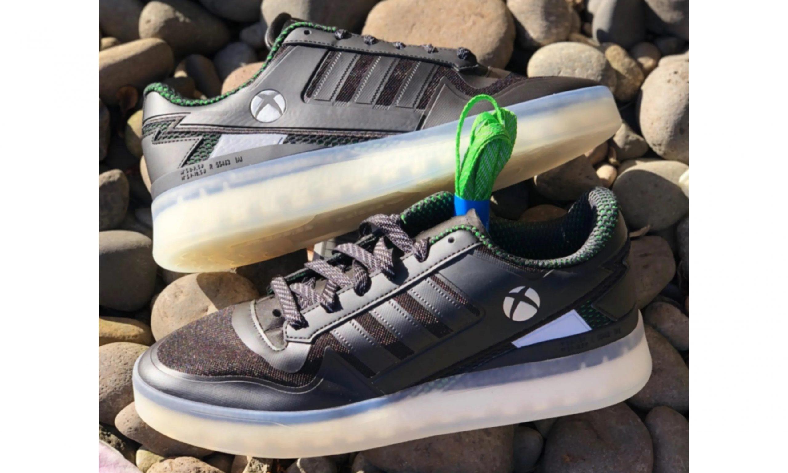 Xbox x adidas 联乘鞋款曝光