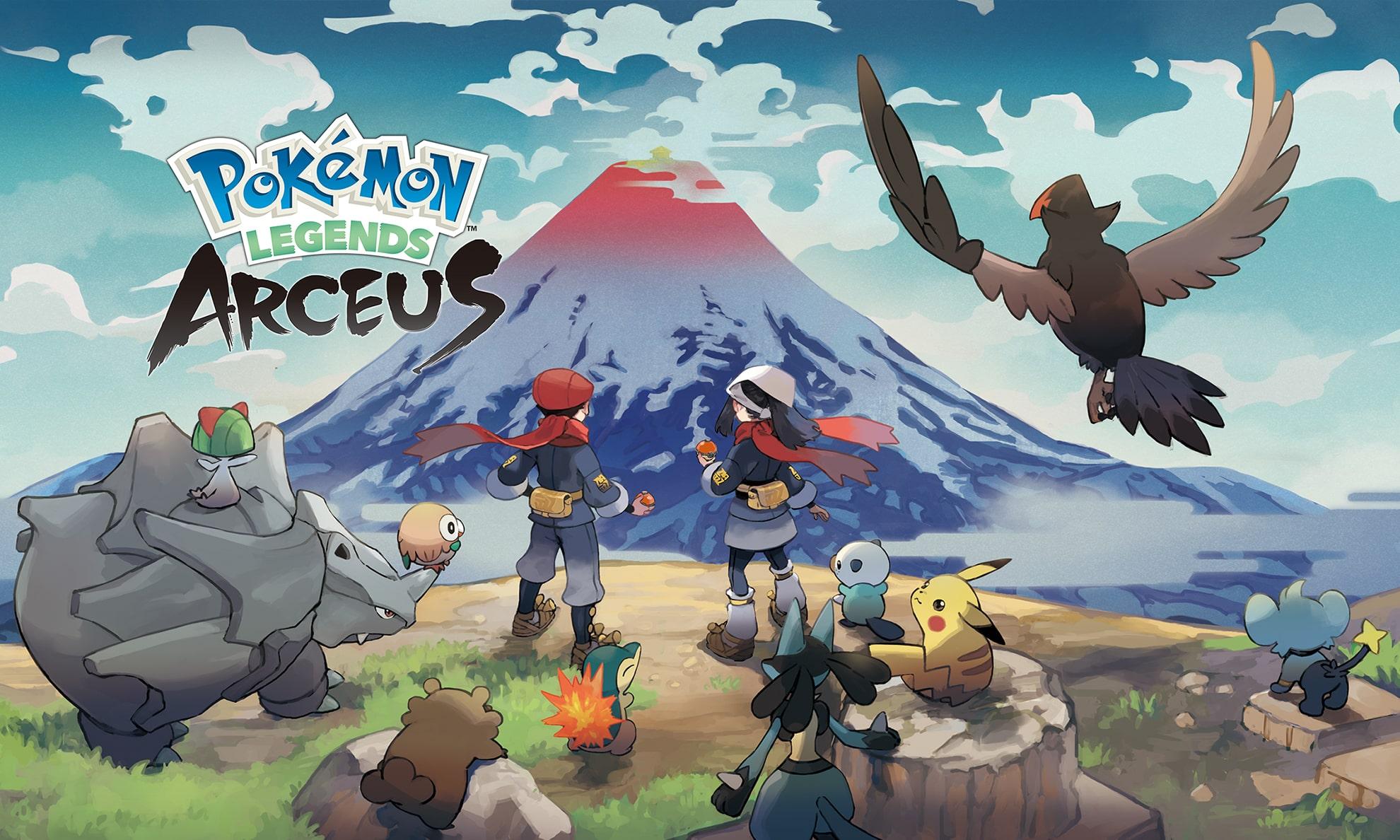 Nintendo 首款 Pokémon 开放世界 RPG 游戏发售日期公布