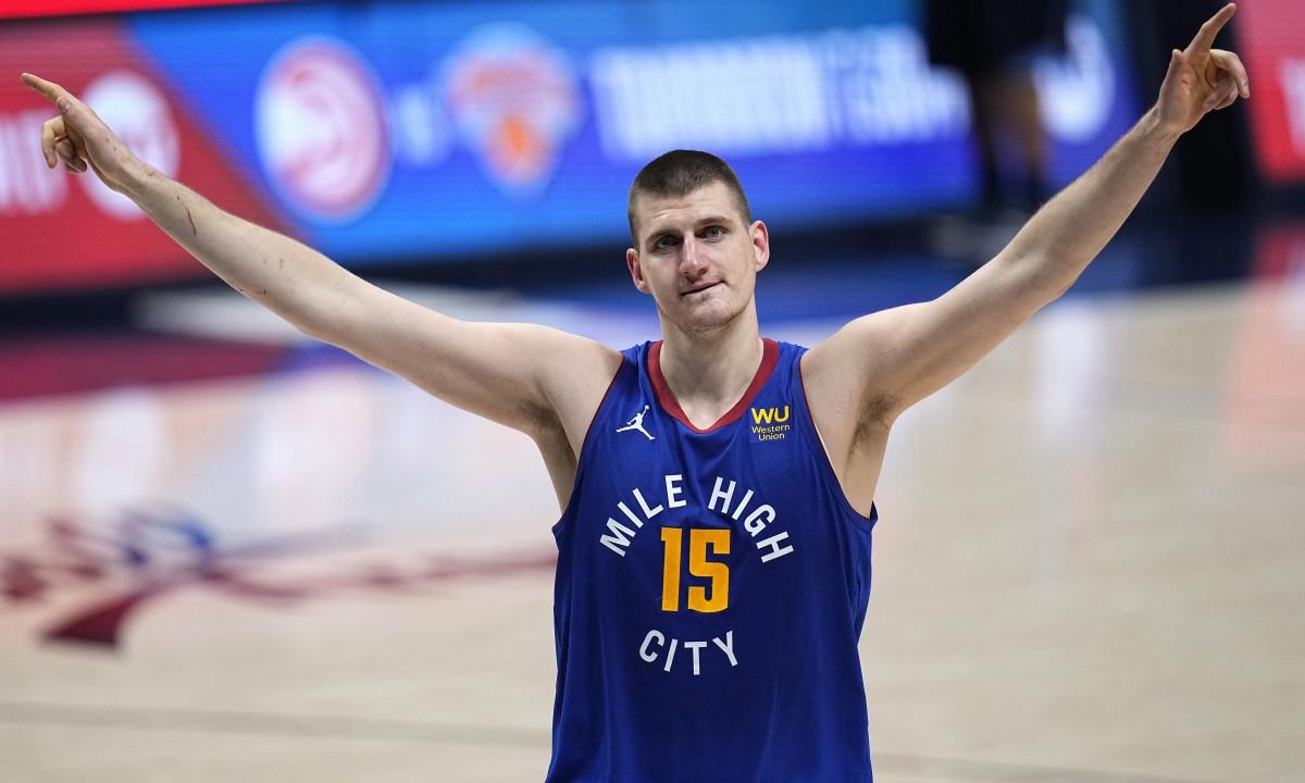 Nikola Jokic 当选 NBA 2020-21 赛季常规赛 MVP
