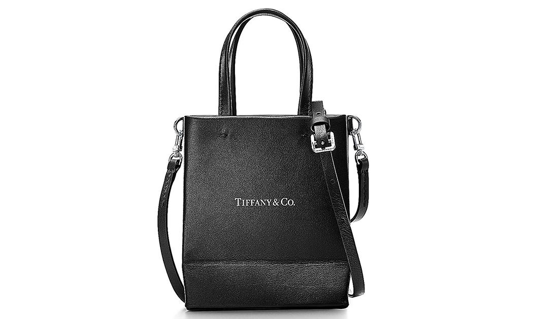 Tiffany & Co. 推出新款黑色皮包系列