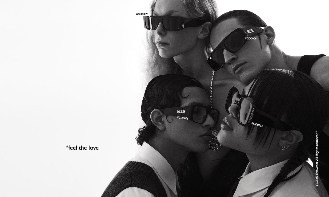 GCDS 推出首个太阳镜系列广告活动