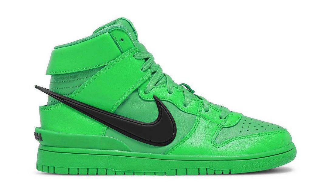 AMBUSH x Nike Dunk High 将推出新配色「Flash Lime」
