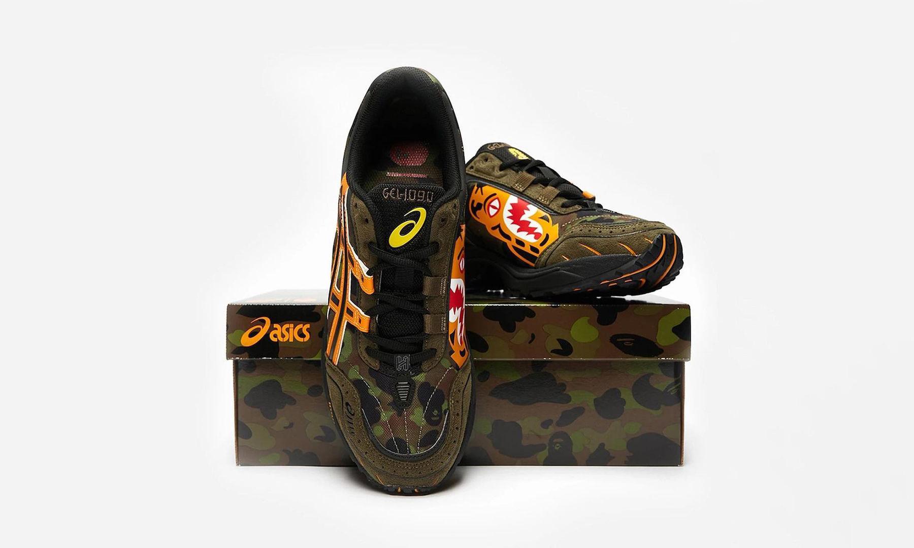 抢先预览 BAPE® x ASICS 联名鞋款