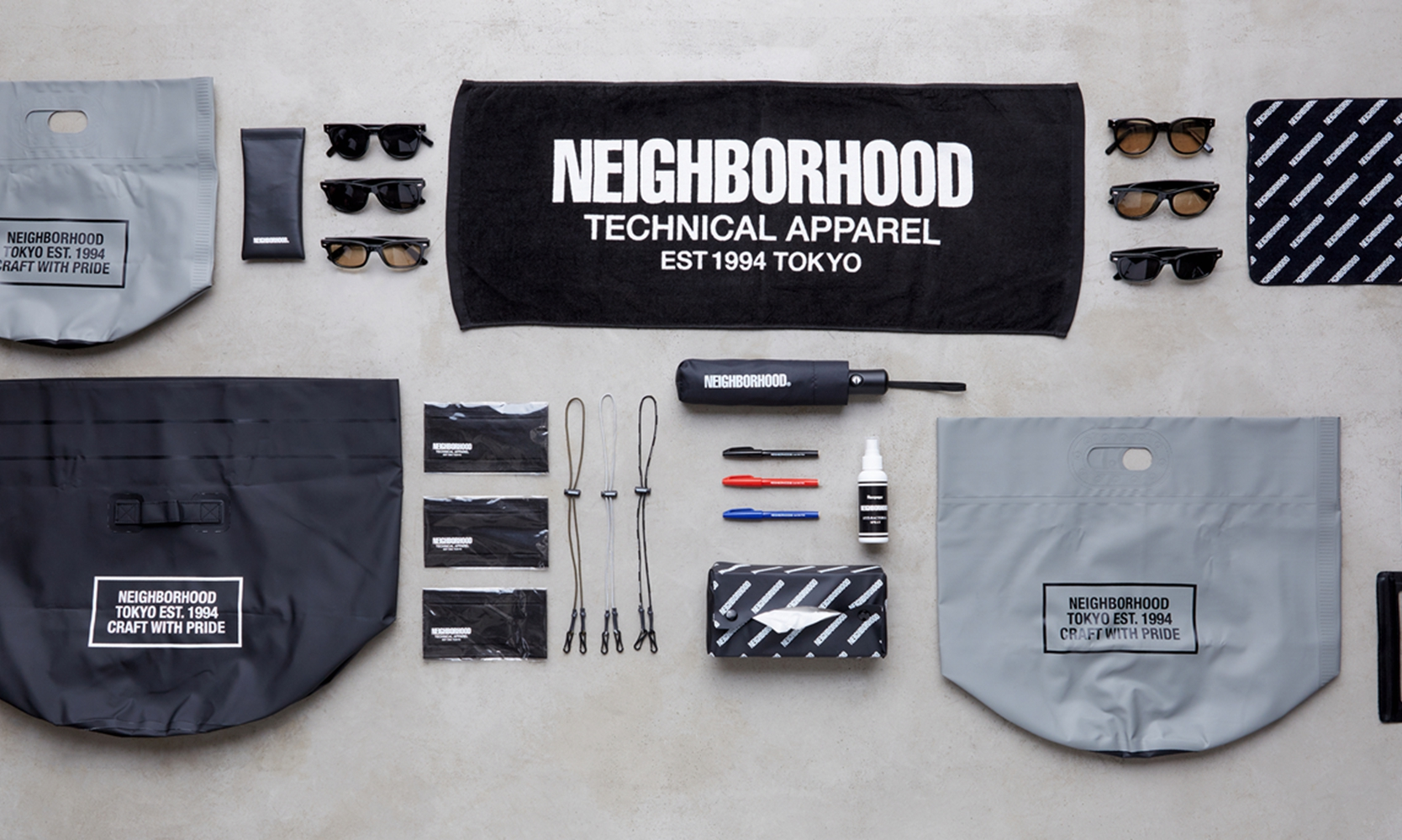 NEIGHBORHOOD 推出全新「NBHD BOOKSTORE」生活周边系列