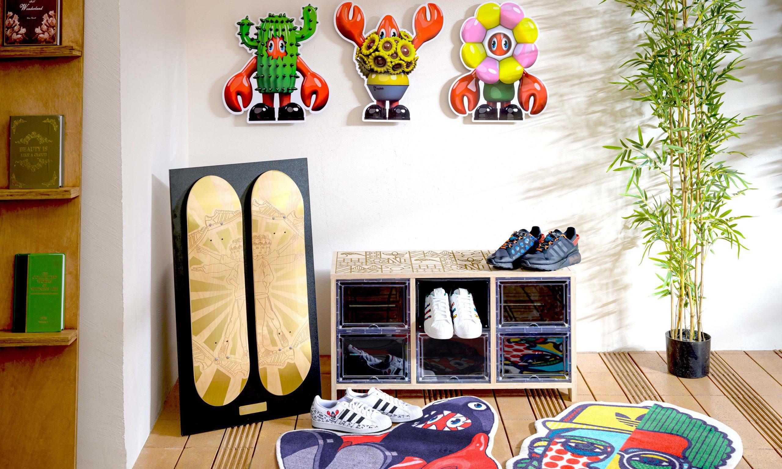 如何用 adidas Originals 联名家具装饰房间?