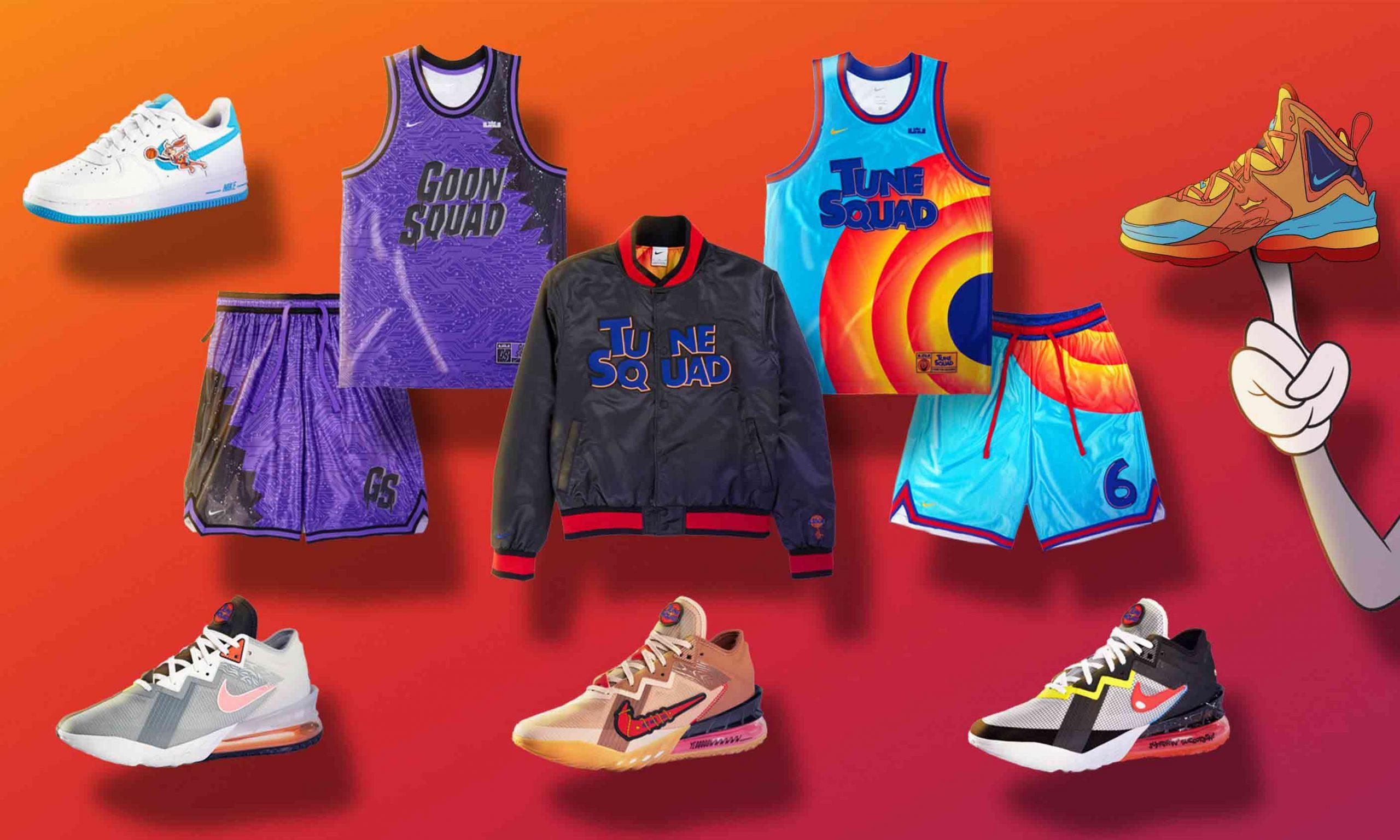 Nike 和 CONVERSE 推出《空中大灌篮 2:新传奇》别注系列