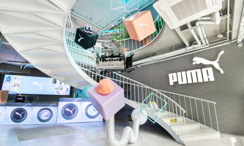 PUMA 于上海新天地举办盛夏限定空间