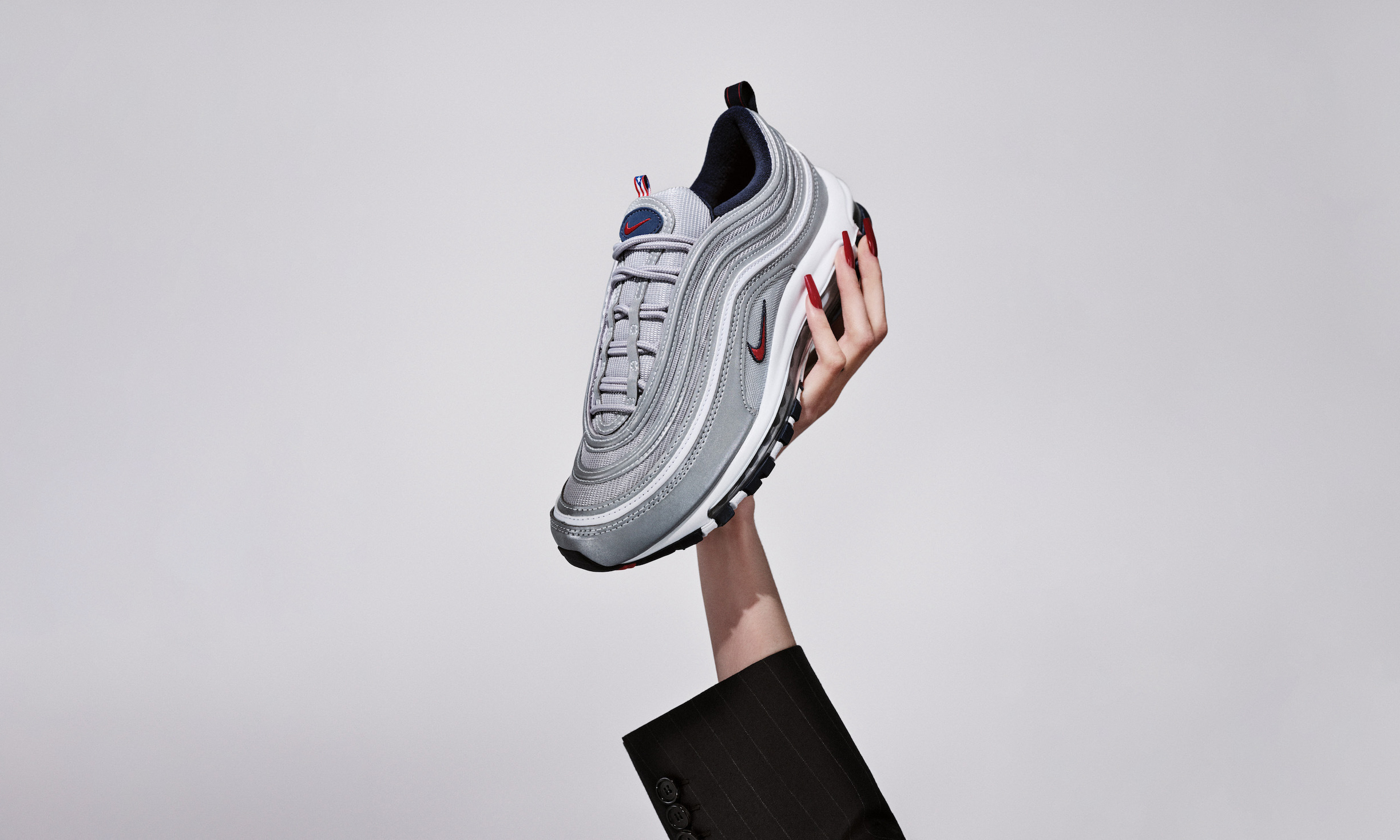 激似「银子弹」,Nike Air Max 97「Puerto Rico」即将发售