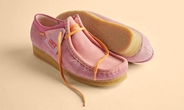 LVC 携手 Clarks Originals 推出全新合作鞋款