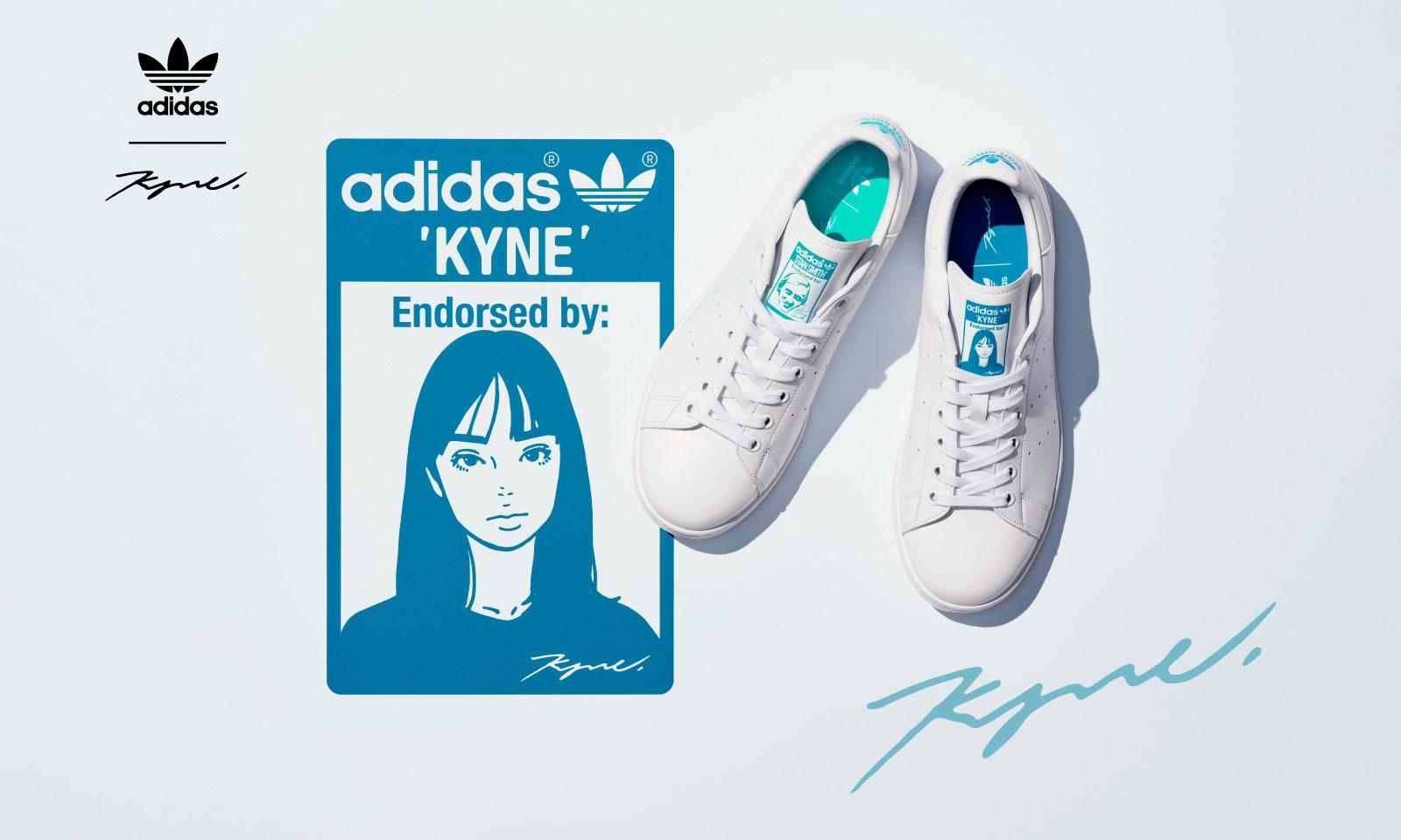adidas Originals 携手 KYNE 带来合作系列