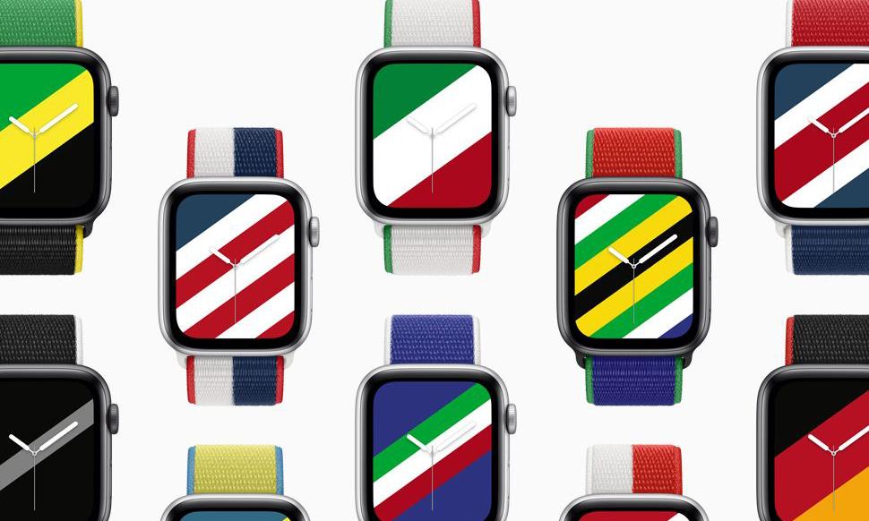 苹果发布 Apple Watch 国家主题表带和表盘
