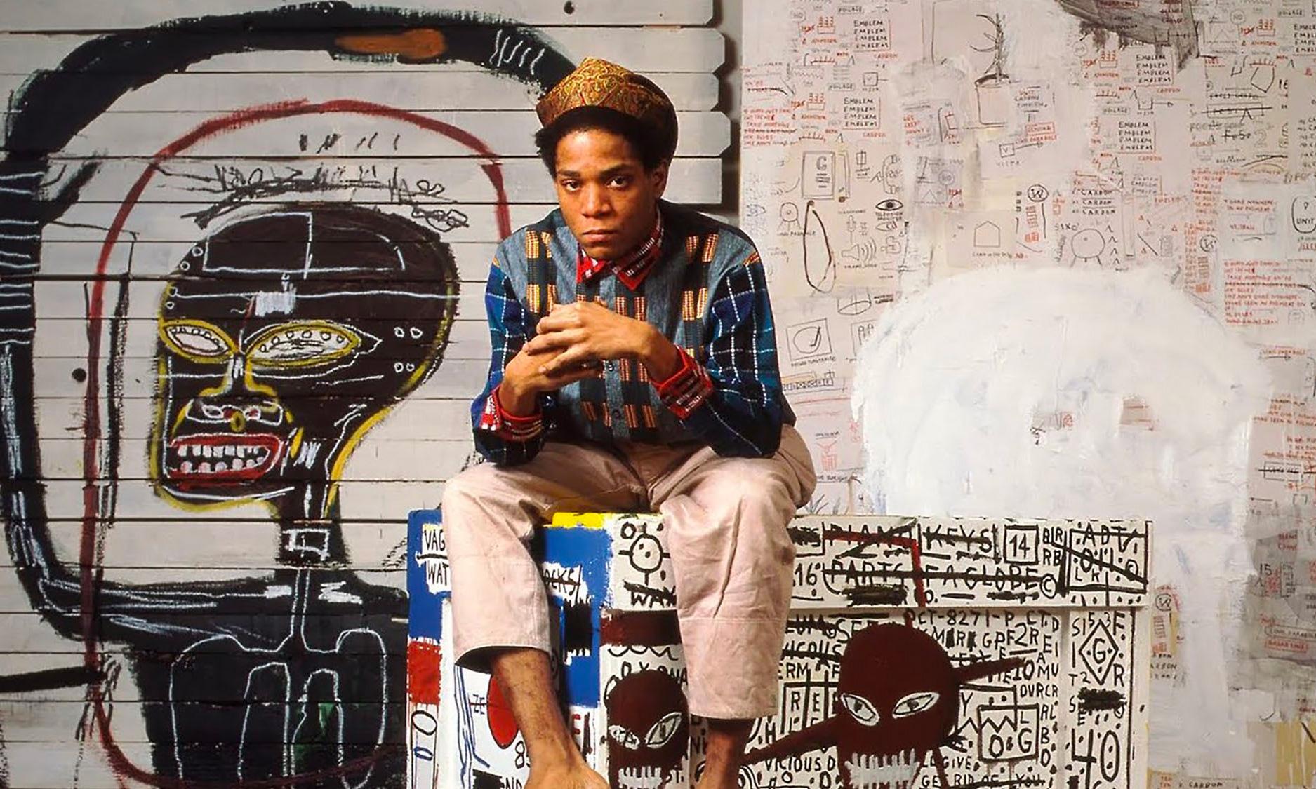 已故艺术家 Jean-Michel Basquiat 的联名为何随处可见?