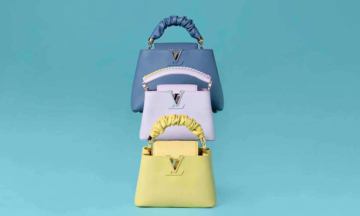 鲜艳色彩,LOUIS VUITTON 释出 2021 早秋系列包袋