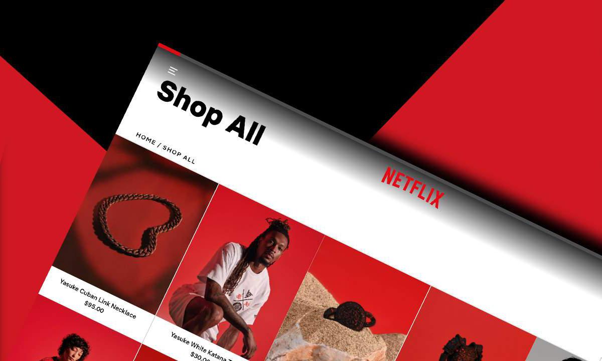 Netflix 推出首个电商平台,将推出剧集周边产品