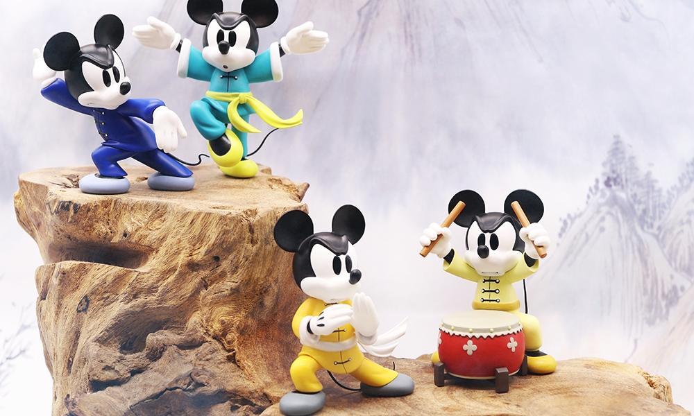 Disney x HEROCROSS 联合发布「武林米笈」功夫米奇盲盒系列