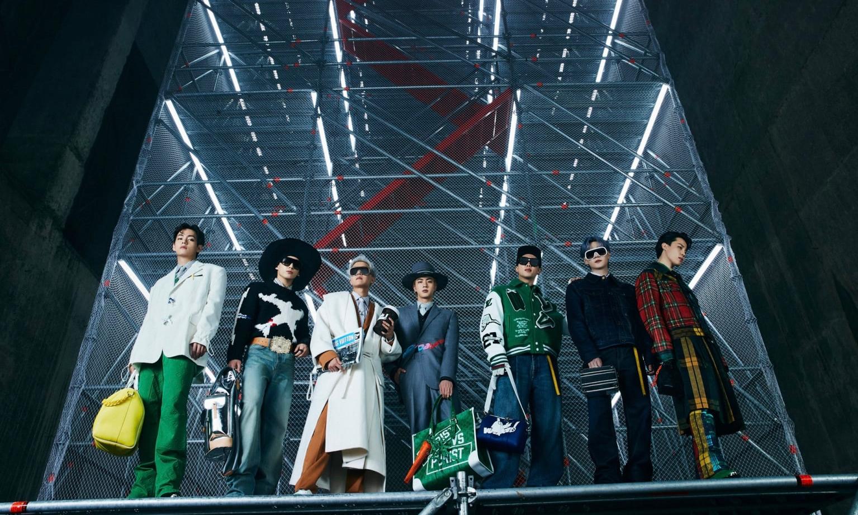 LOUIS VUITTON 发布最新影片,由品牌大使 BTS 呈献 2021 秋冬男装系列