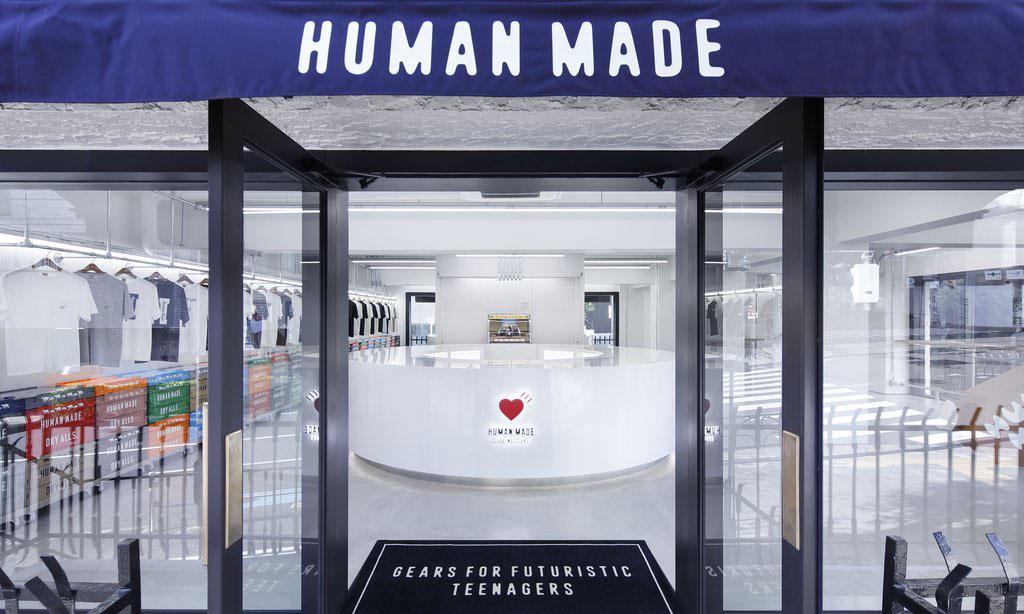 焕新归来,HUMAN MADE 东京旗舰店重新开业