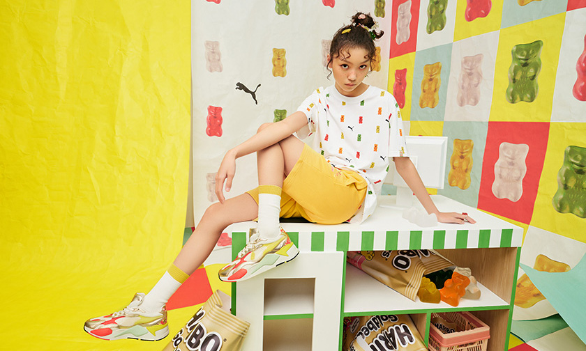 与 HARIBO 合作,PUMA 推出小熊软糖服饰系列