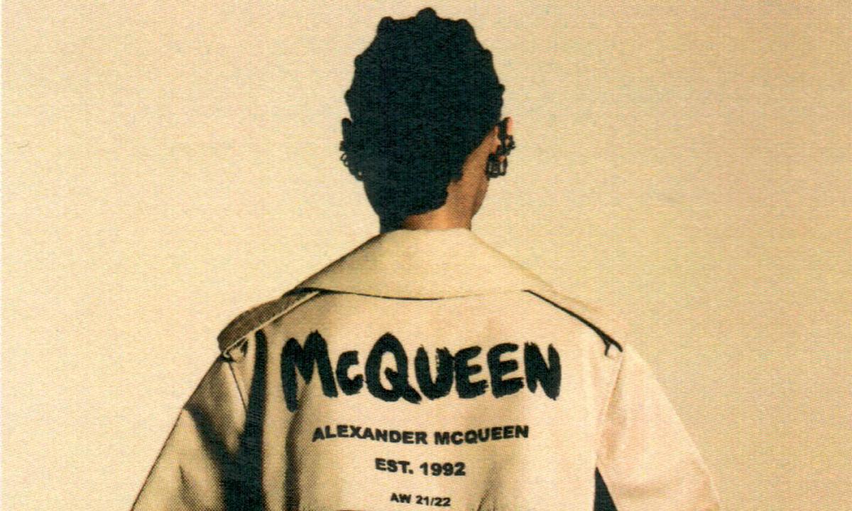 Alexander McQueen 推出 「McQueenGraffiti」系列