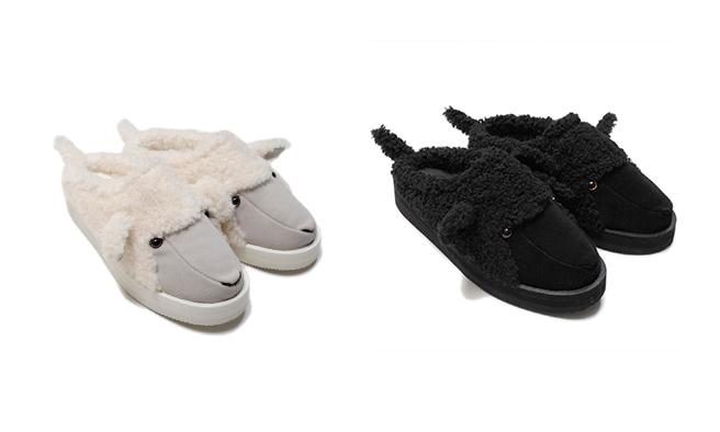 Doublet x SUICOKE 合作鞋款动物拖鞋发布