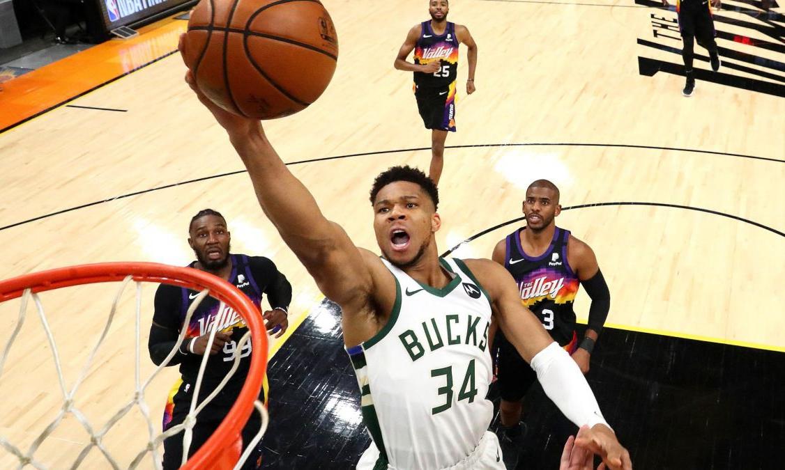 密尔沃基雄鹿队斩获 NBA 2020-21 赛季总冠军