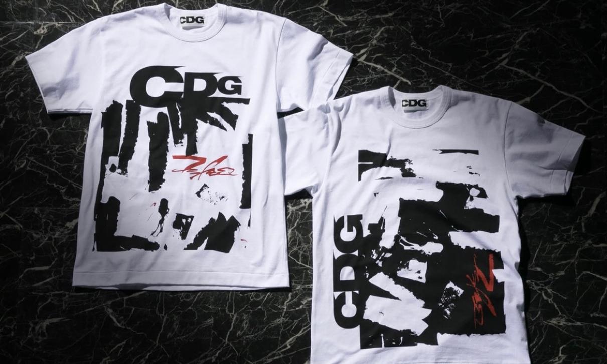 CDG x Futura 合作 T恤即将发售