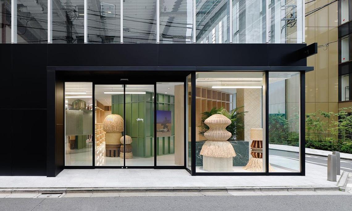 Stüssy 在东京涩谷区开启新门店