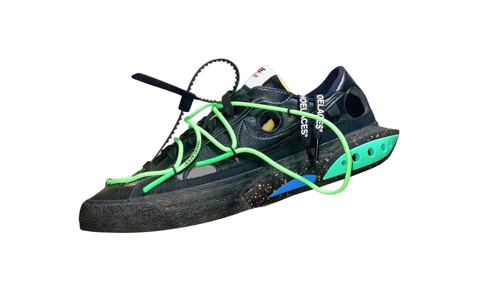 Off-White™ x Nike Blazer Low 新设计曝光