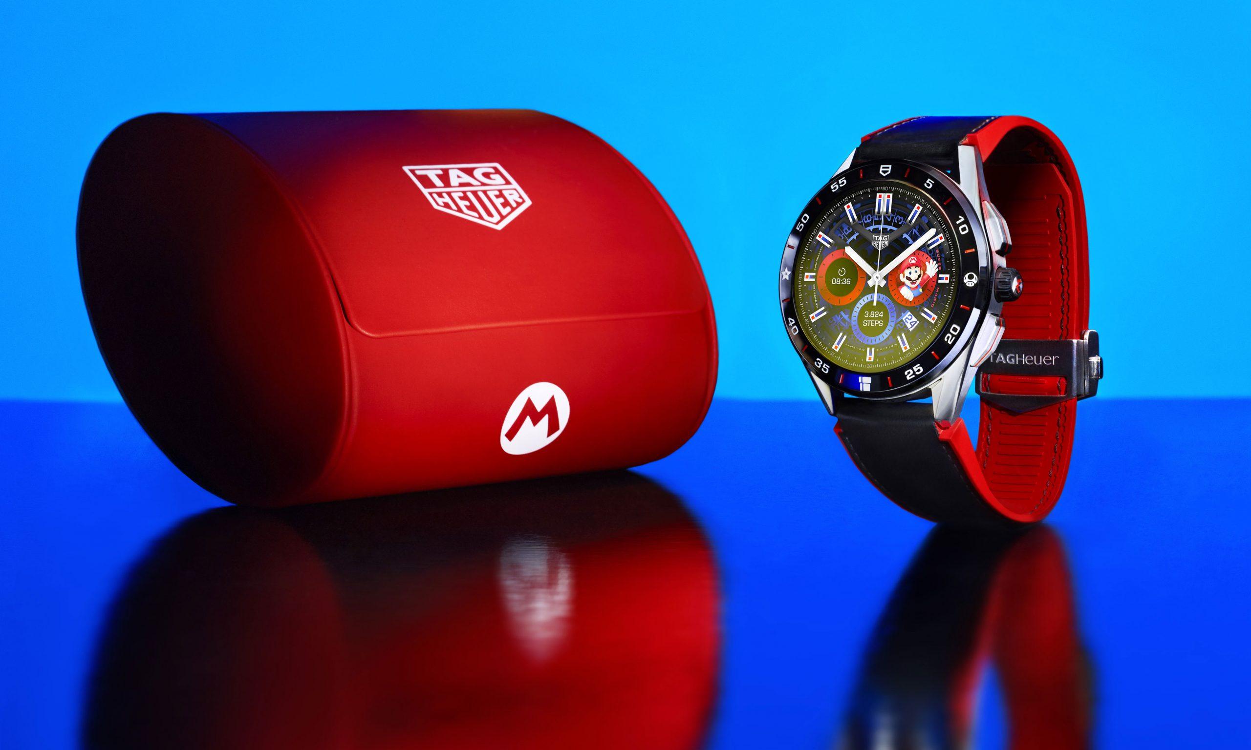 TAG Heuer 与 Nintendo 开启长期合作,推出超级马里欧腕表