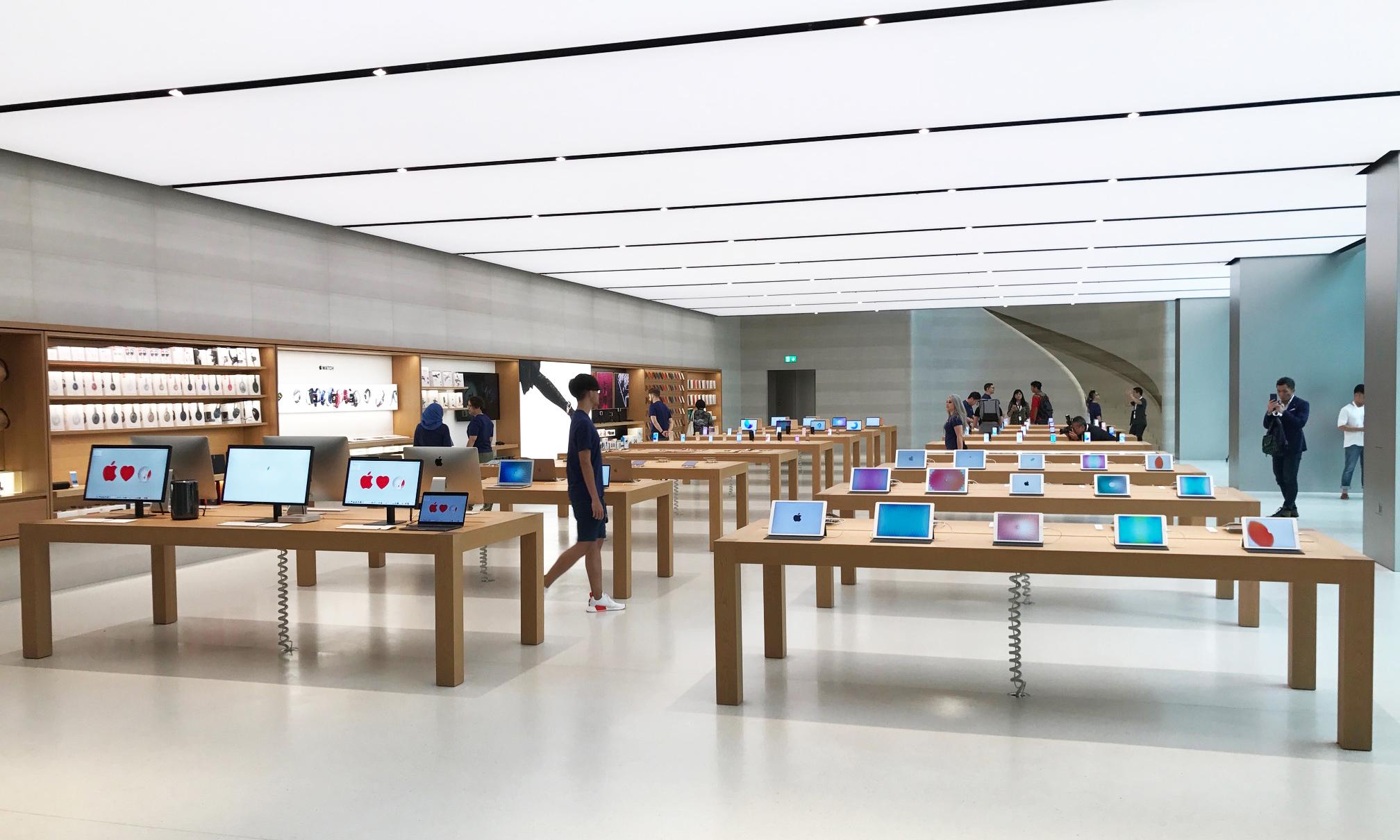 苹果零售店取货服务现已在中国内地推出