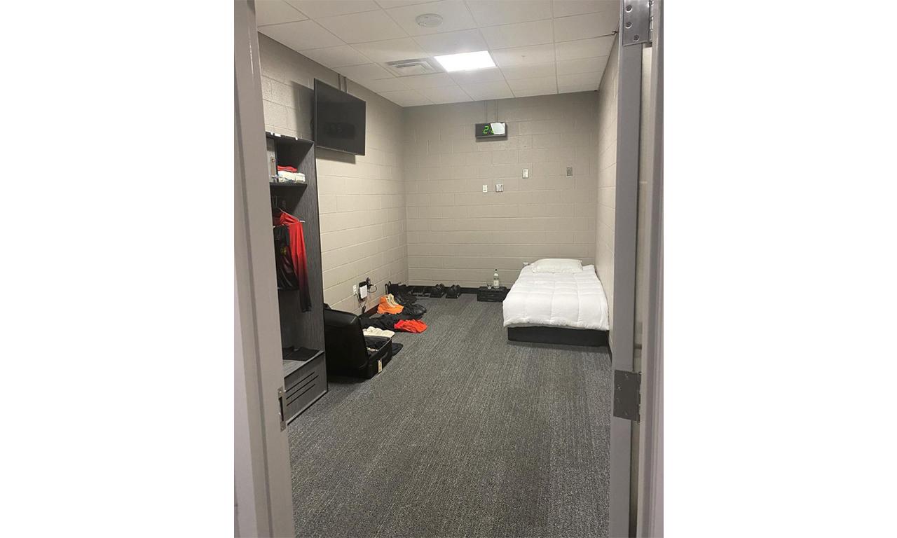 Kanye West 分享亚特兰大体育馆内居住房间