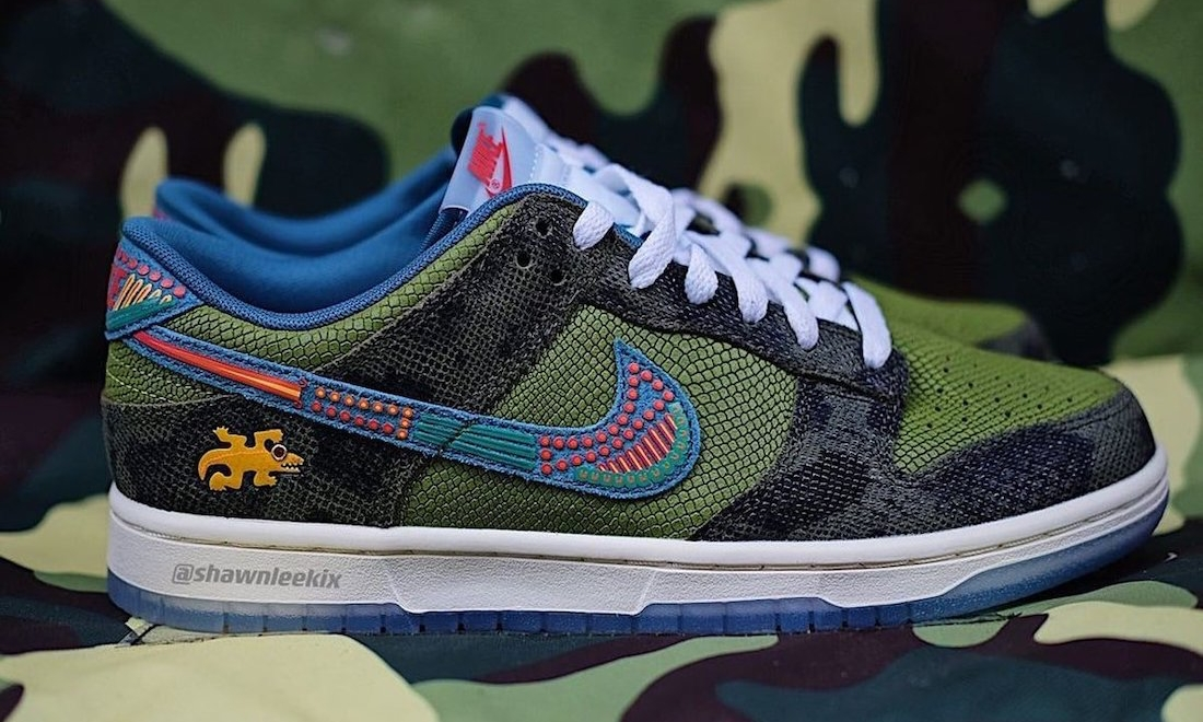 Nike Dunk Low「Siempre Familia」抢先预览