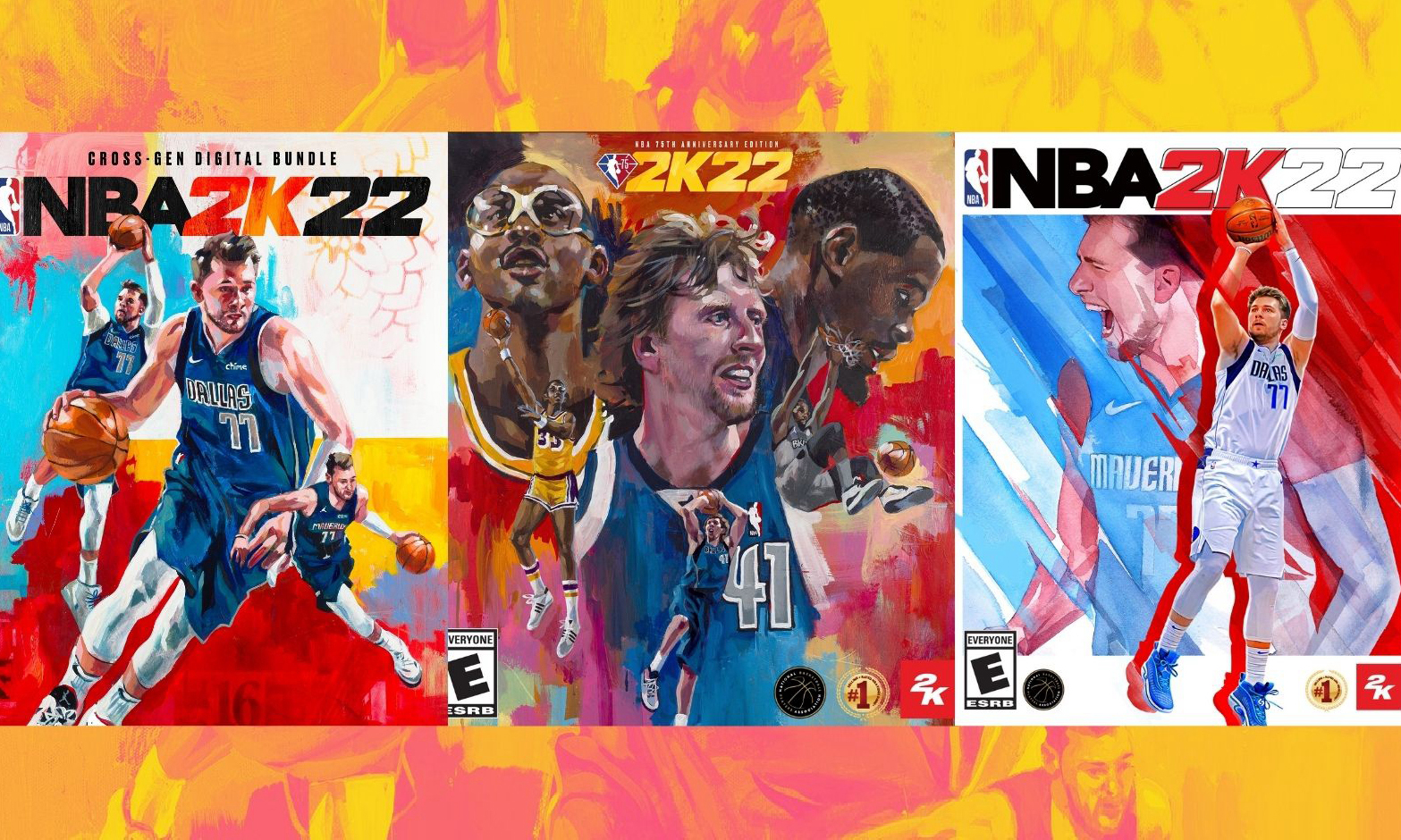 《NBA 2K22》封面人物正式公开