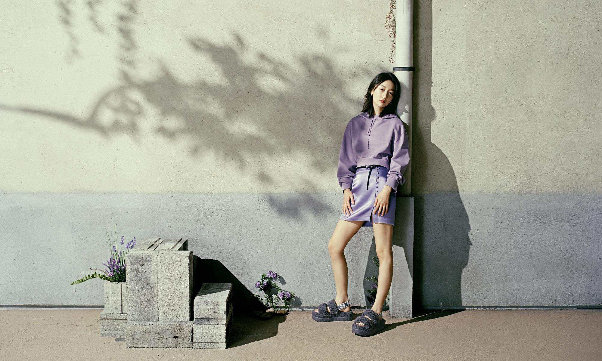 UGG 推出全新欧芙拉菲塔、迪斯科毛茸拖鞋系列