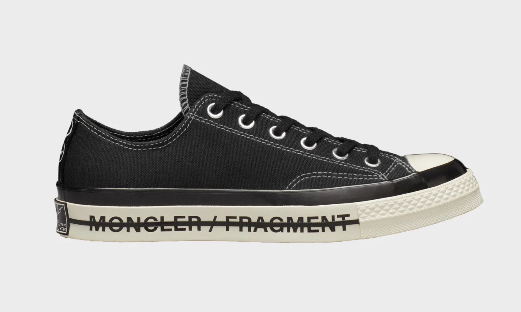 MONCLER x fragment design x CONVERSE 联名鞋款系列发布